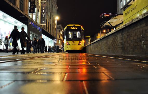 Tram.. Manchester city